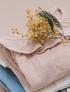 Algodón orgánico, Blusa cuello vuelos - amberlight, 10Y