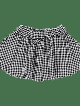 Vichy plate skirt