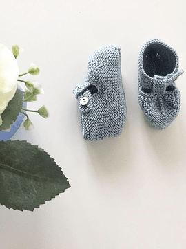 Ankle boots 3-6m, Merino Wool