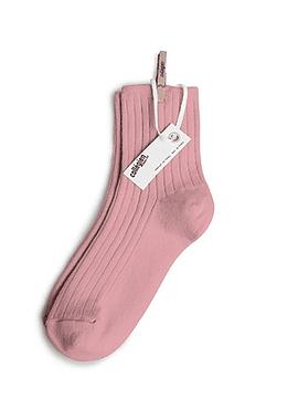 Short sock, pink