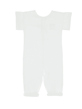 Sota overall, off white, 6-12m