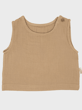 Polera Ceylan, indian tan, 9m/2y
