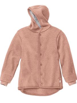 Boiled Merino Wool Jacket, Rose