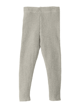 Merino Wool Leggings, Grey