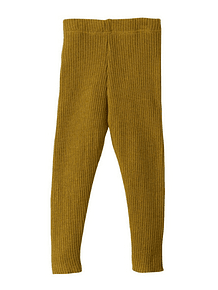Merino Wool Leggings, Gold