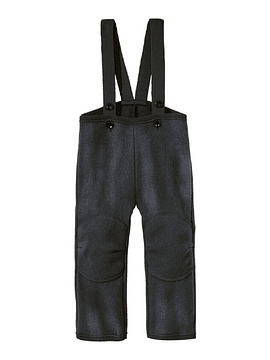 Merino Wool Trousers, Anthracite