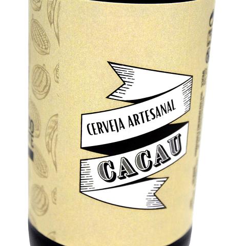 """CERVEJA DE CACAU """"FÁBRICA DO CHOCOLATE"""""""