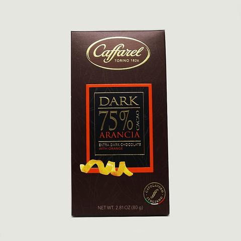 DARK 75% CACAO ARANCIA (80G)
