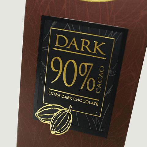 DARK 90% CACAO (80G)