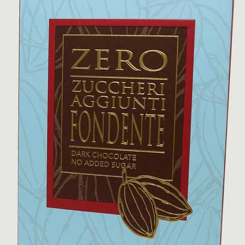 ZERO ZUCCHERI AGGIUNTI FONDENTE (80G)