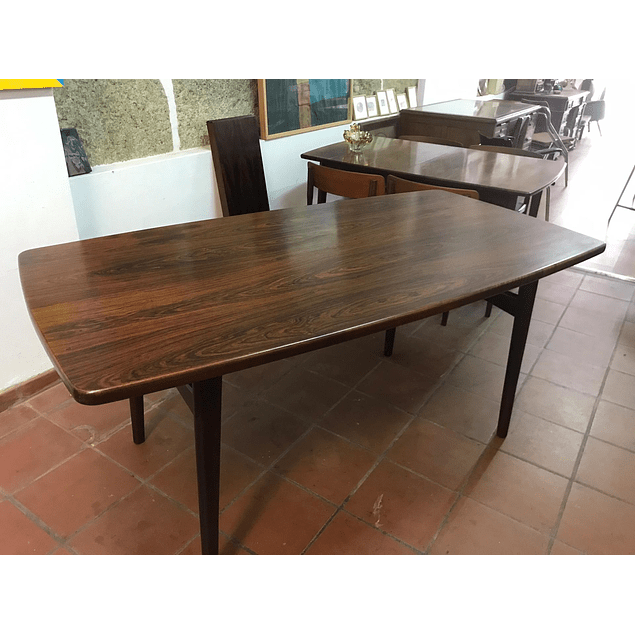 Rosewood table from the 1970s
