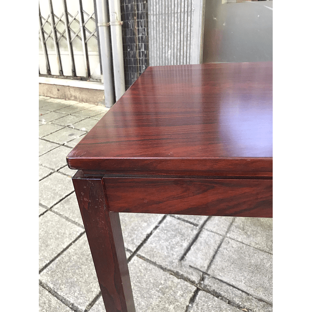 Small rosewood side table