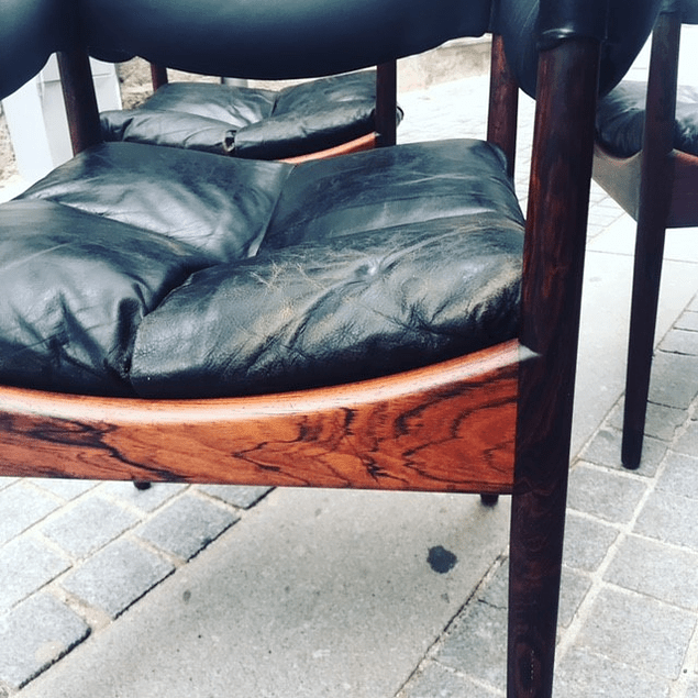 Kristian Vedel ,  Rosewood Louge Chair 1960
