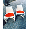 Vintage Scandinavian Molded Plastic A-Line Model 290 Chairs by Steen Ostergaard for Cado