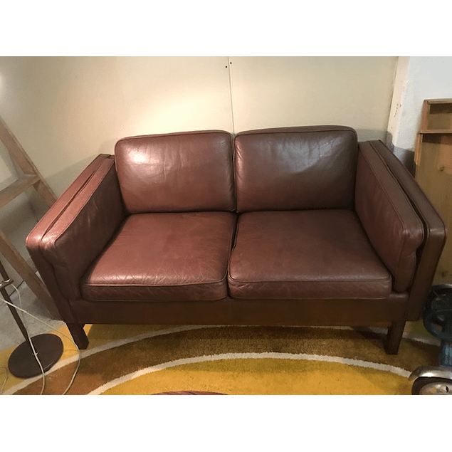 2 seater leather sofa Design Mogens Hansen