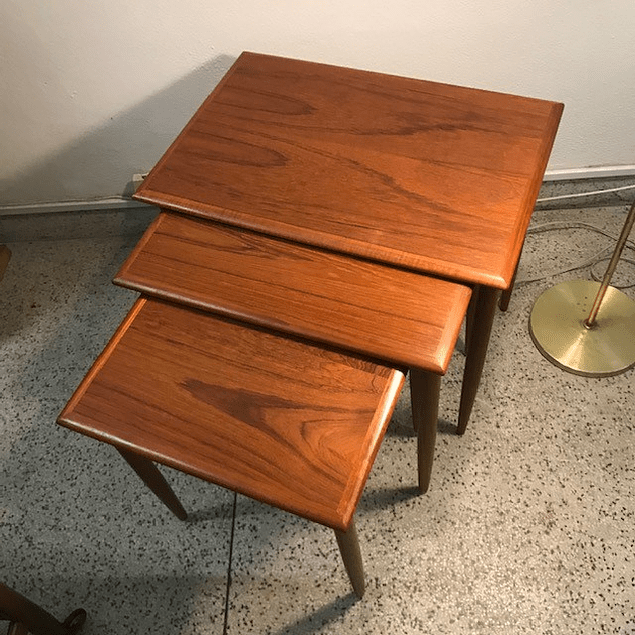 3 teak coffee table