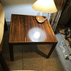 2  palisander coffee table