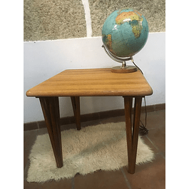 1 coffee table Oak 60s