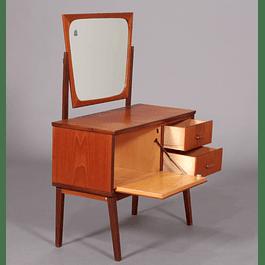 teak Dresser with mirror