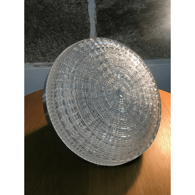 60s design crystal lamp