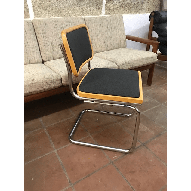 Ceska chairs typo Marcel Breuer made in Italien