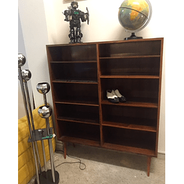 Bookcase rosewood 60s