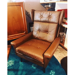 Leather Loungechair