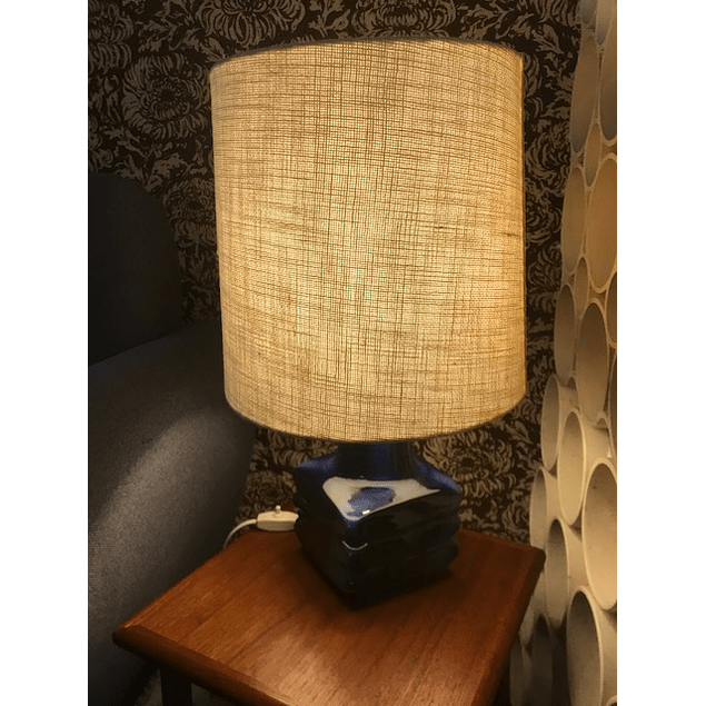 Lamp from the 70s  based on ceramic