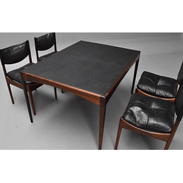Kristian solmer Vedel  `` Modus`` Table in Rosewood  from 1960s