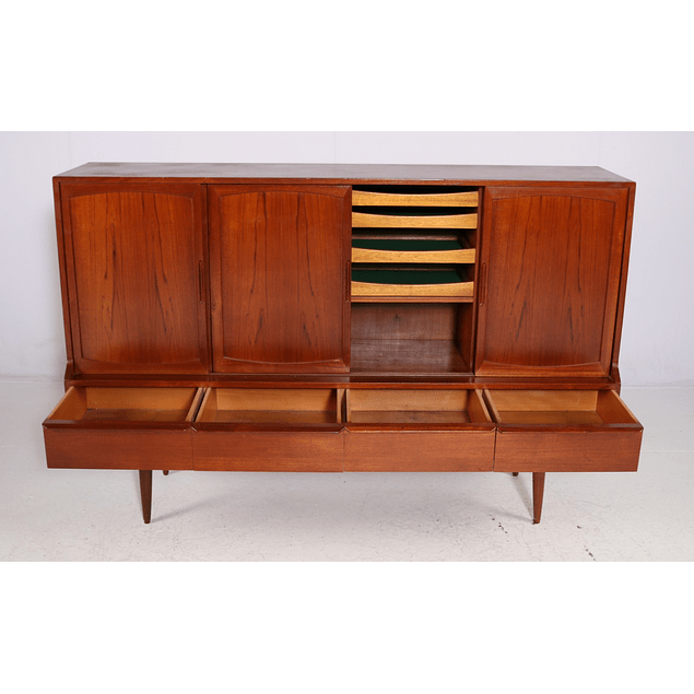 Sideboard in Teak by Henning Kjærnulf