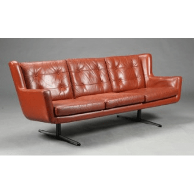 Leather Sofa from the 1970s