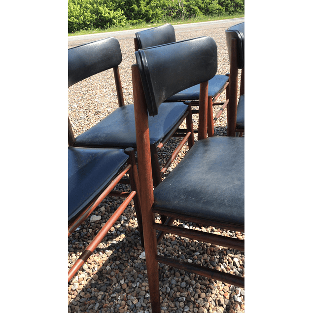 Danish design  rosewood chairs