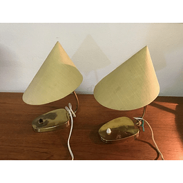 Table lamp set from the 1950s