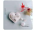 WELCOME LOVE | MOLDE SILICONE ARTESANAL