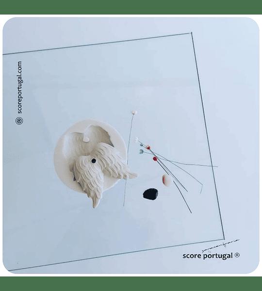 ASA DE ANJO | MOLDE SILICONE ARTESANAL