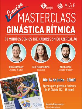 MASTERCLASS Ginástica Rítmica COM A SN DO AZERBAIJÃO - Juniores