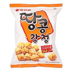 Galletas de arroz con mani