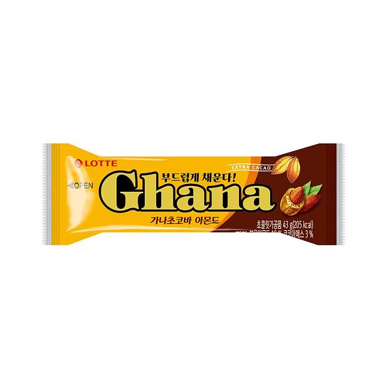 Barrita de Chocolate Ghana con Almendra