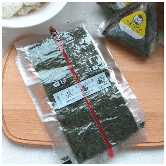 Alga para kimbap triangular (100 unidades) - Image 2