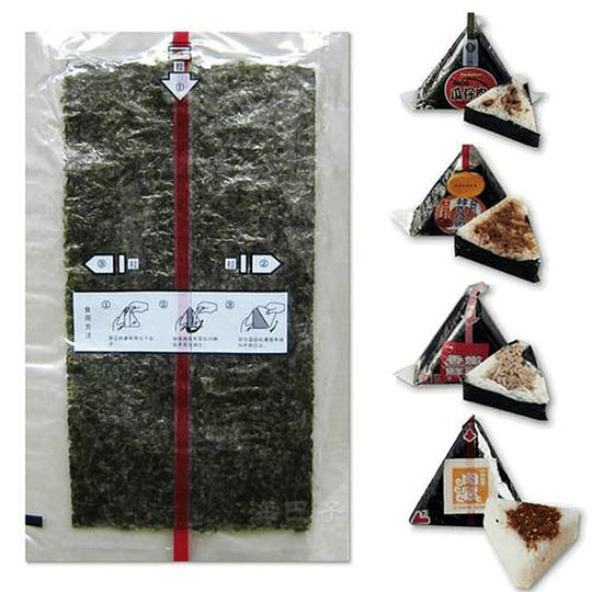 Alga para kimbap triangular (100 unidades) - Image 3