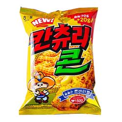 Chips de Choclo con Mantequilla