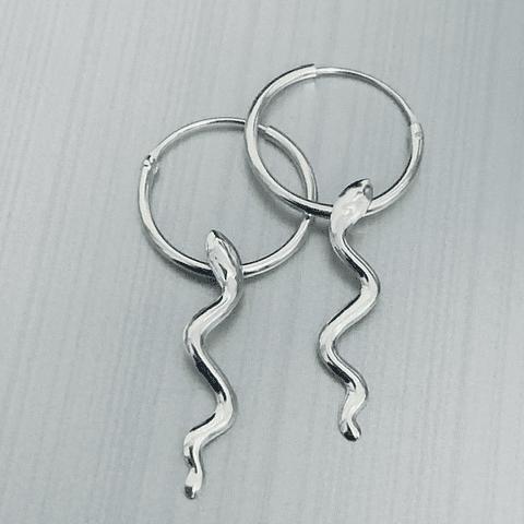 Argollas Serpiente Mininal