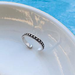 Midi Ring Empelotado Minimal