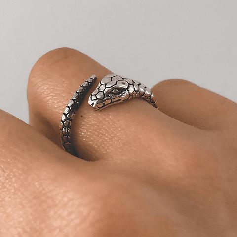 Anillo Serpiente Cobra