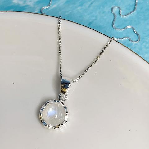 Collar Moon Stone Intuición