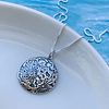 Collar Luna Protectora con Relieves (Hand made)
