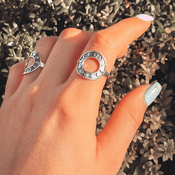 Anillo Fases Lunar Hand Made