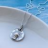 Collar Bola de Cristal y Fase Lunar