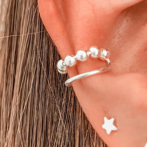 Ear Cuff Balls Boho