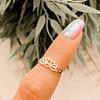 Midi Ring Flor de Loto